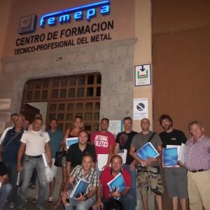 Finaliza el curso de Prevención para empresarios en Las Palmas
