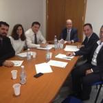 Reunión con la Consejería de Industria del Gobierno de Canarias