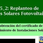Curso Gratuito Replanteo de Instalaciones Solares  Fotovoltaicas