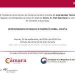 La Cámara de Comercio acoge la jornada Oportunidades de Negocio e Inversión Corea-España