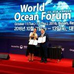 El Cluster Marítimo de Canarias en el WOF de Corea del SUR