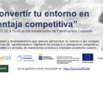 Red Cide organiza el curso «Cómo convertir tu entorno en una ventaja competitiva»