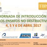TBN organiza la Jornada de Introducción a los Ensayos No Destructivos