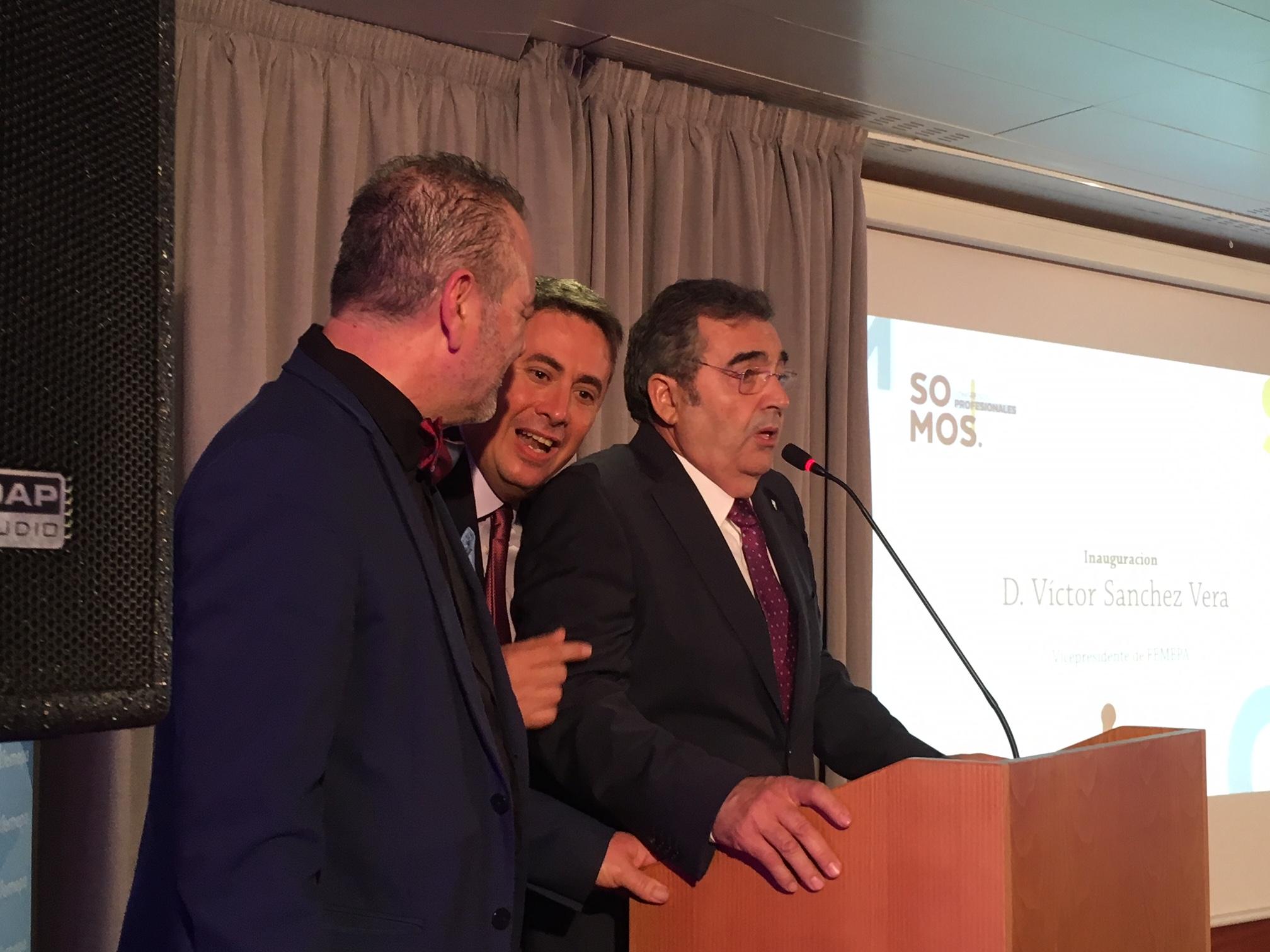 José Rodríguez Robaina, homenajeado en el SOMOS PROFESIONALES de Lanzarote