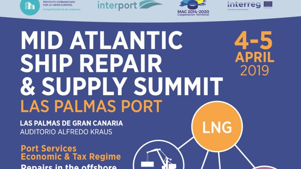 Congreso Internacional «Mid Atlantic Ship Repair& Supply Summit-Las Palmas Port»