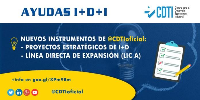 CDTI – LINEA DIRECTA DE EXPANSIÓN (LIC-A)