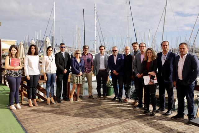 Recepción de la comitiva francesa en la III Semana Profesional Náutica