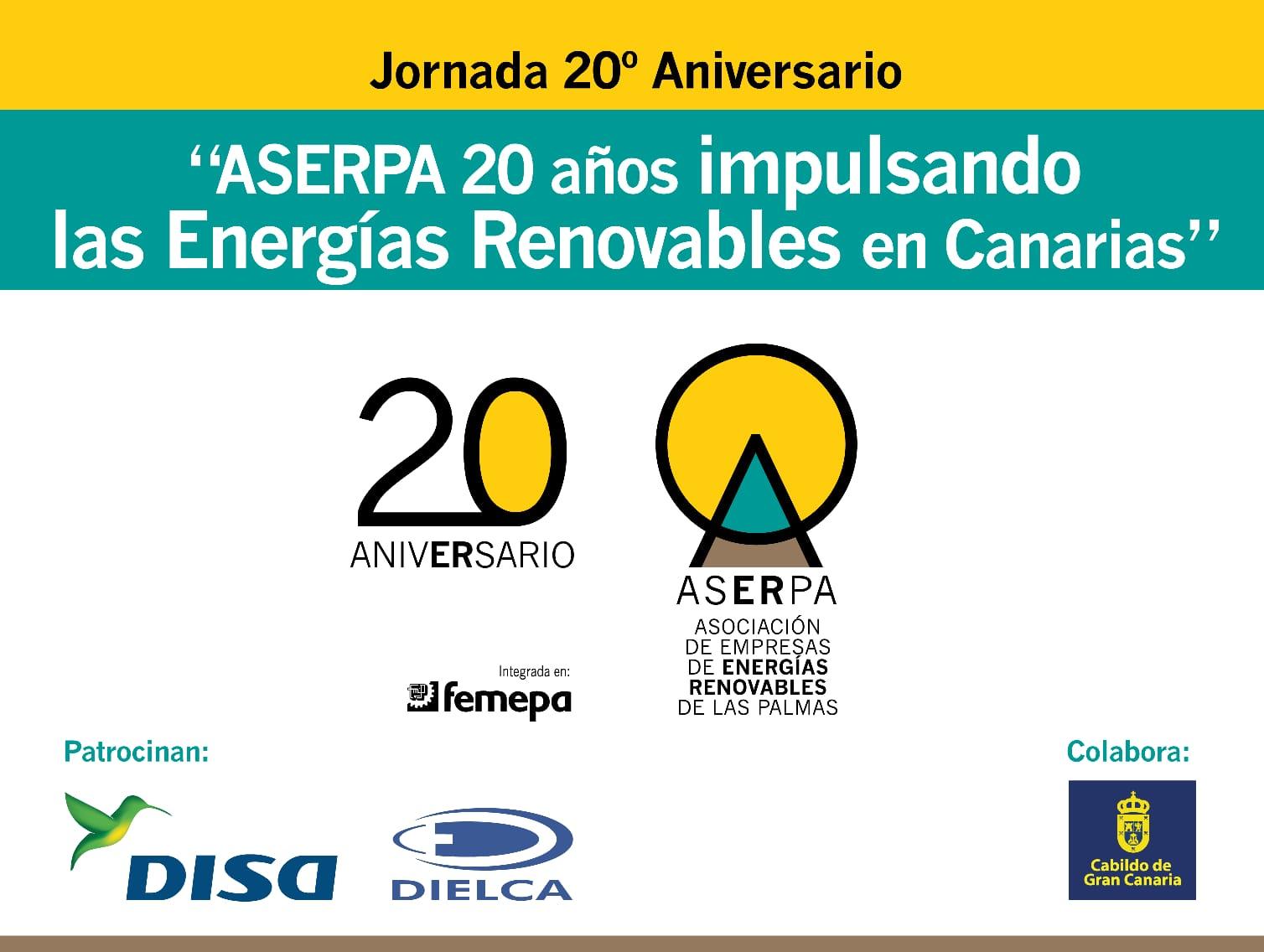 Aserpa celebra su 20º Aniversario