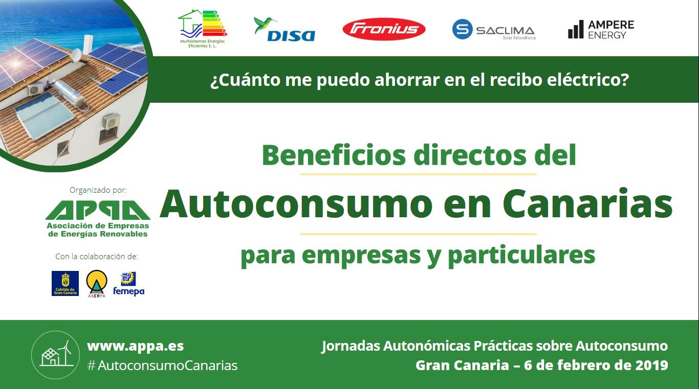 Jornada de Autoconsumo en Canarias