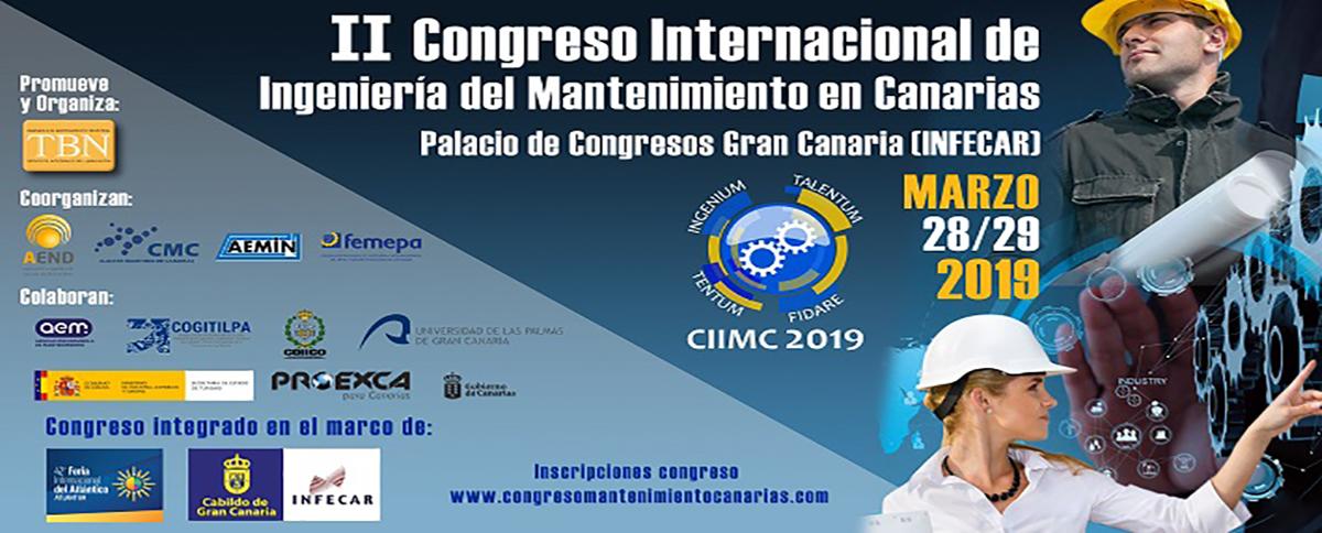 II Congreso Internacional de Ingeniería del Mantenimiento en Canarias