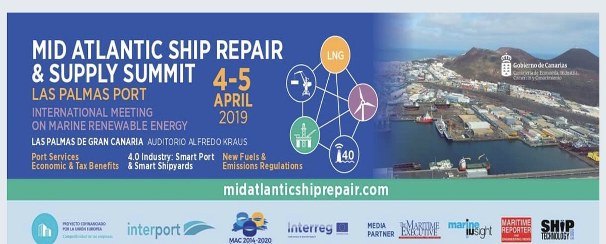Últimos días de inscripción del  congreso MID ATLANTIC SHIP REPAIR & SUPPLY SUMMIT