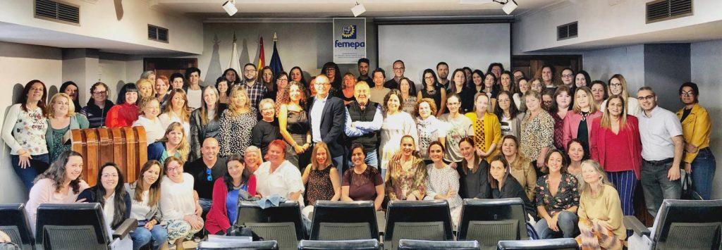 Clausura proyecto de Orientación Profesional para el Empleo y el Autoempleo de Femepa y Fundación Femepa (OPEA2018-2019)
