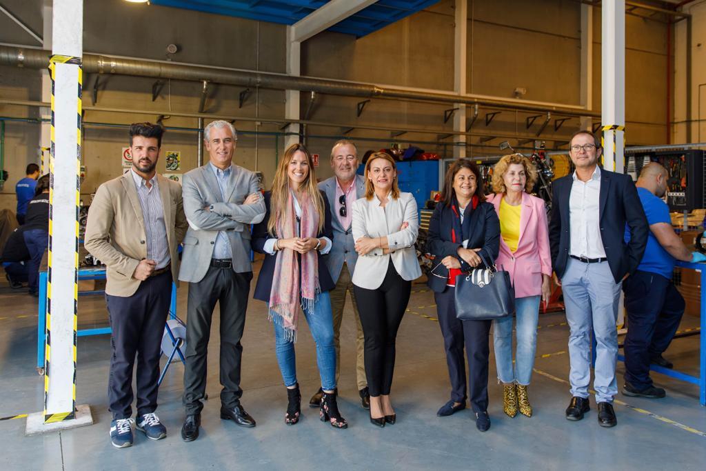 Visita de los representantes de Coalición Canaria al Centro de Formación Técnico-profesional del Metal – Femepa