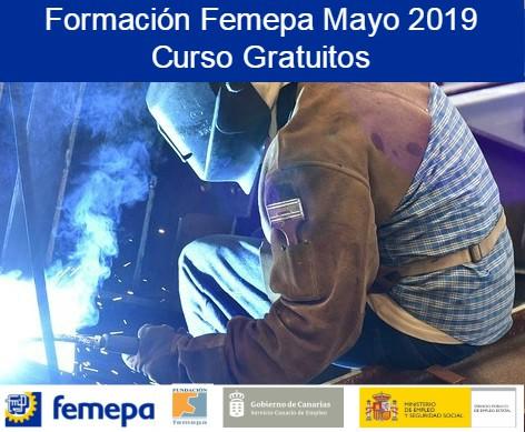 Oferta Formativa mayo 2019 dirigida tanto a trabajadores/as desempelados/as como ocupados/as