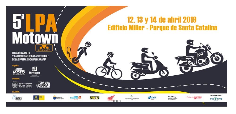 Presentación de la 5ª LPA Motown Sagulpa, Feria de la Moto y la Movilidad Urbana Sostenible