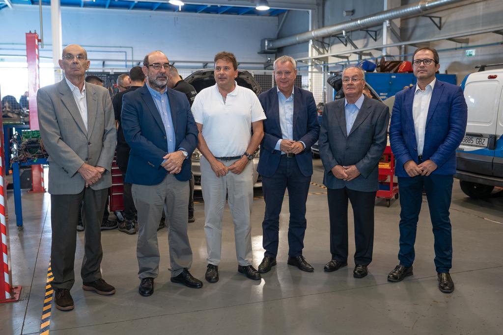 Luis Ibarra y Sebastián Franquis visitan el Centro de Formación Técnico-Profesional del Metal – Femepa