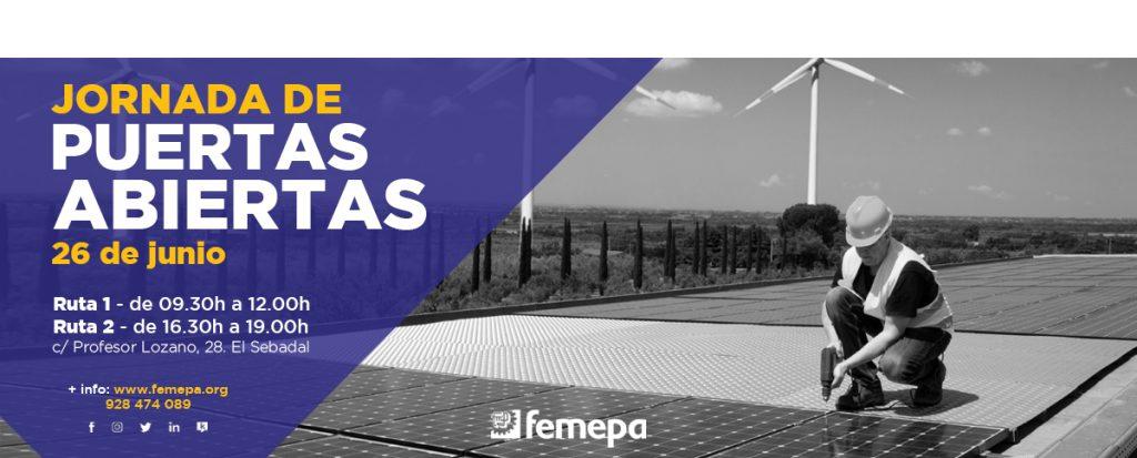Jornada de puertas abiertas en los centros de formación de Femepa
