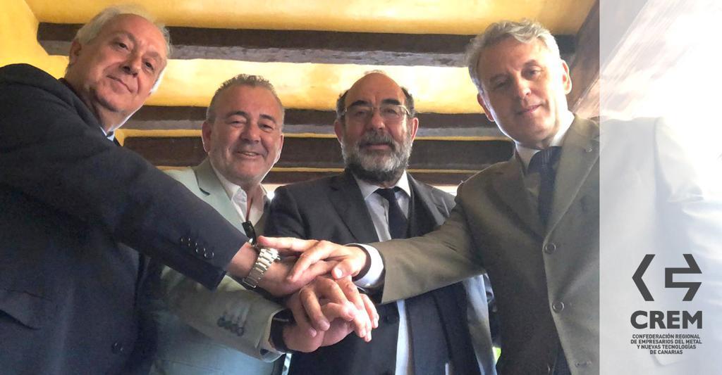Encuentro entre los presidentes y secretarios generales de Femepa y Femete