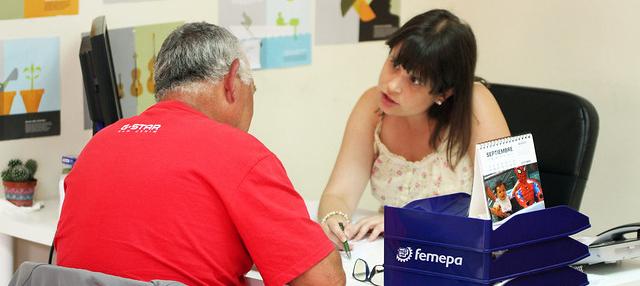 Más de 20.000 personas serán atendidas en el servicio de Orientación Profesional para el Empleo y Asistencia al Autoempleo de Femepa