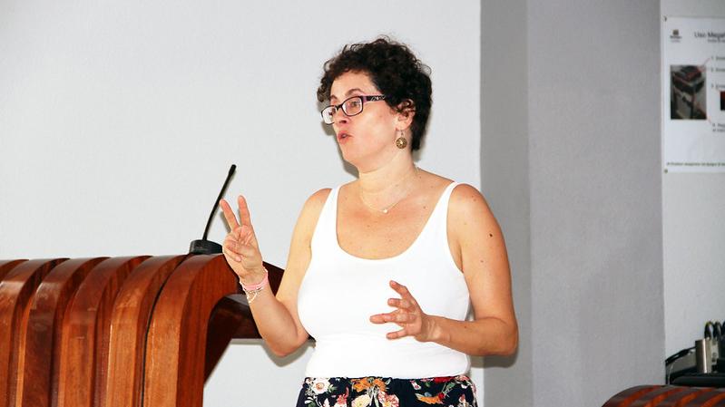 """Mª Yaiza Dueñas (AECC): """"Me he centrado en los hábitos de prevención; en lo que está de nuestra mano frente al cáncer"""""""