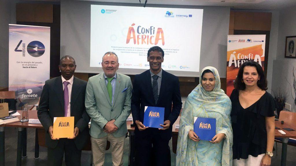 Femepa participa en la clausura del proyecto ConfiÁfrica en Tenerife
