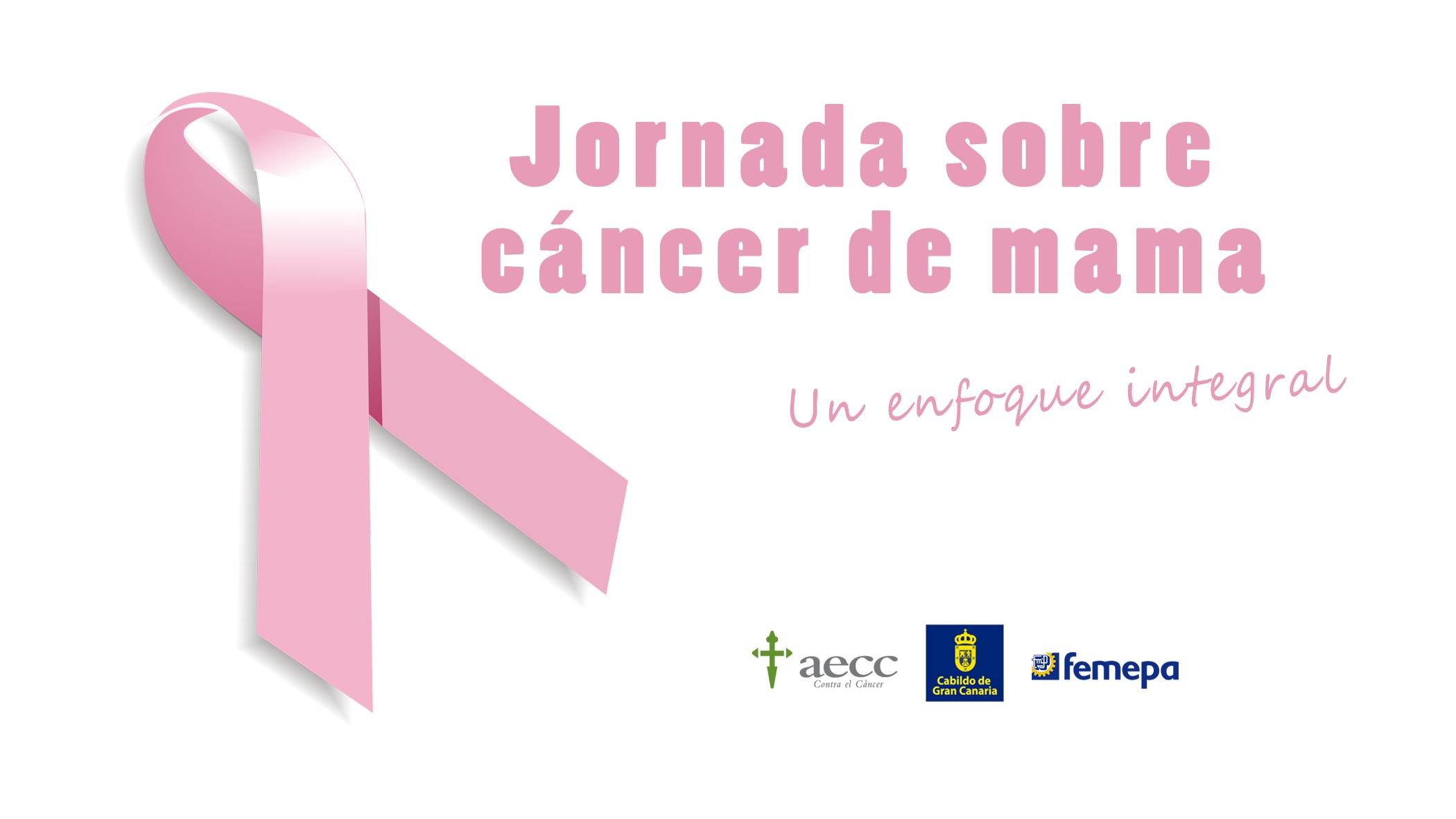 'Jornada sobre cáncer de mama' de la AECC, el 17 de octubre en Femepa