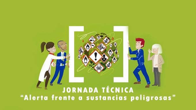 """""""Jornada: Alerta frente a sustancias peligrosas"""", el 24 de octubre en Femepa con entrada gratuita"""