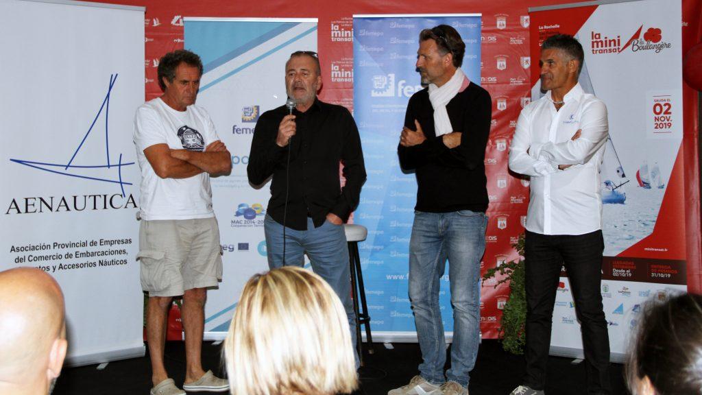 Femepa agasaja a los organizadores y participantes de la Mini Transat