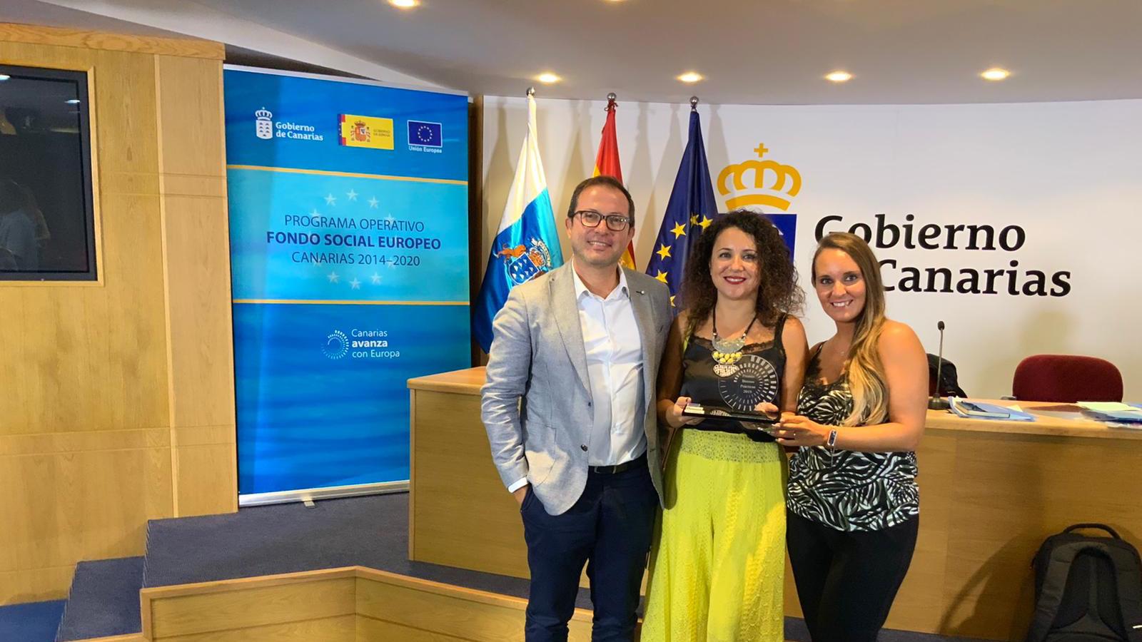 Femepa consigue el 'Premio Europeo de Buenas Prácticas 2019' con su PFAE-GJ TELECOm
