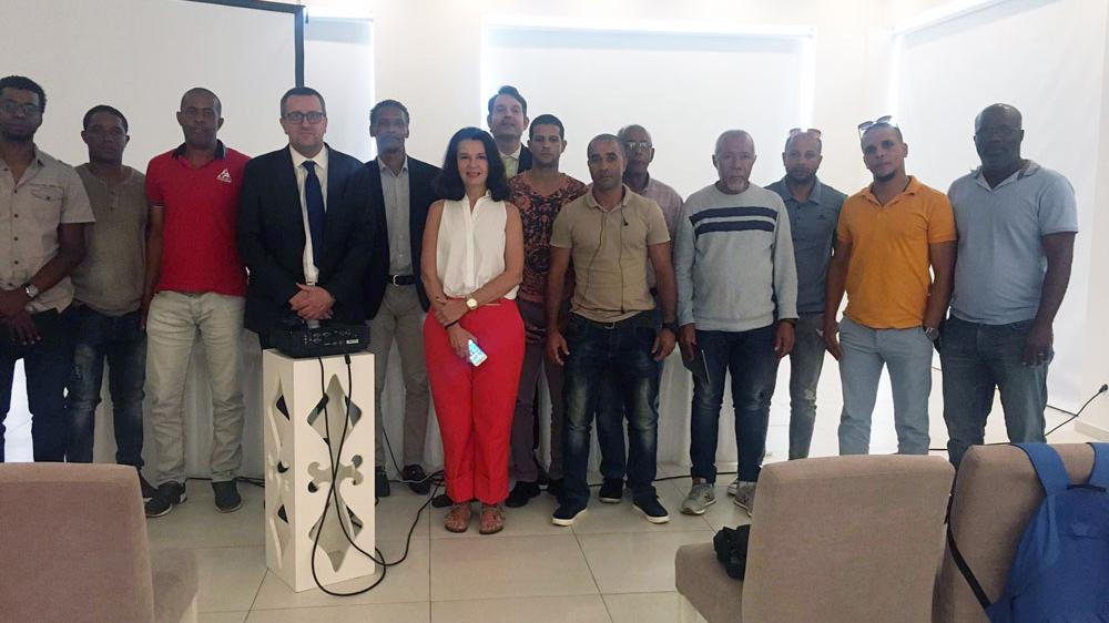 Una representación de Femepa se desplaza a Cabo Verde con el proyecto Interport
