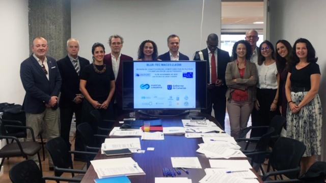 Femepa participa en la reunión del comité director de pilotaje y planificación de las actividades del proyecto BLUE-TEC