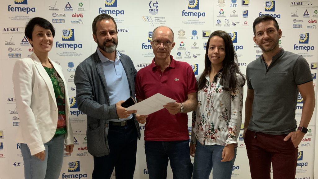 Fundación Femepa firma un convenio con Ingeniería Calero Luna