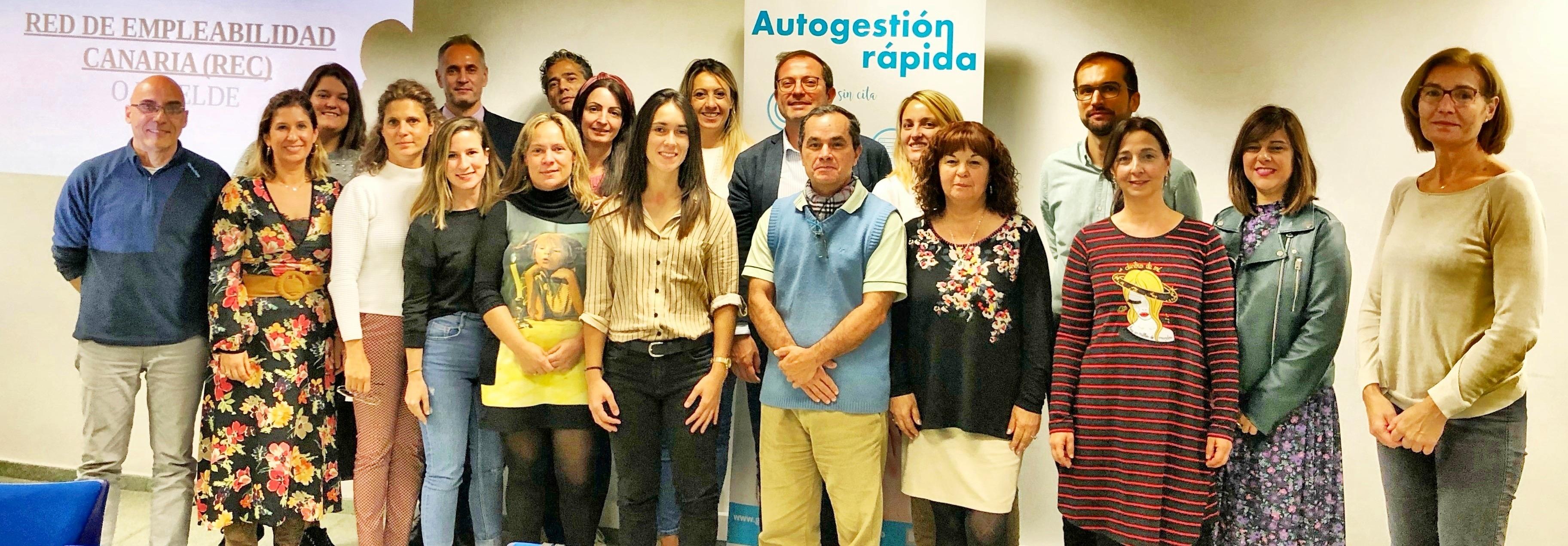 Femepa participa en la Red de Empleabilidad de Canarias de Telde