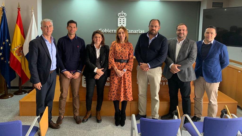 Primera toma de contacto entre ASERPA y la directora general de Energía del Gobierno de Canarias