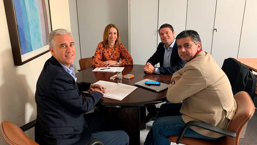 La directora general de Energía del Gobierno de Canarias recibe a CAFONGAS Las Palmas