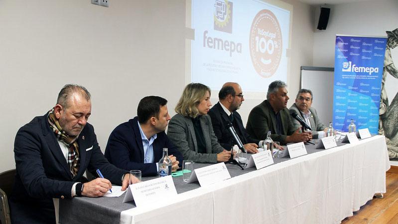 Gran afluencia del empresariado majorero en la Asamblea Local de Femepa en Fuerteventura
