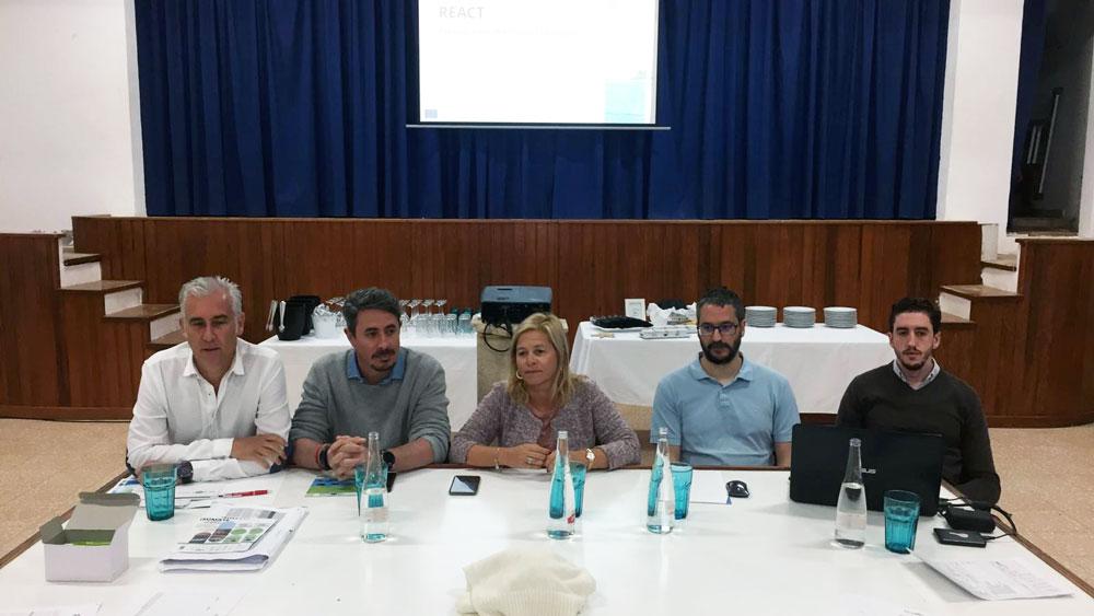 Aielpa forma parte de la presentación del proyecto europeo REACT en La Graciosa