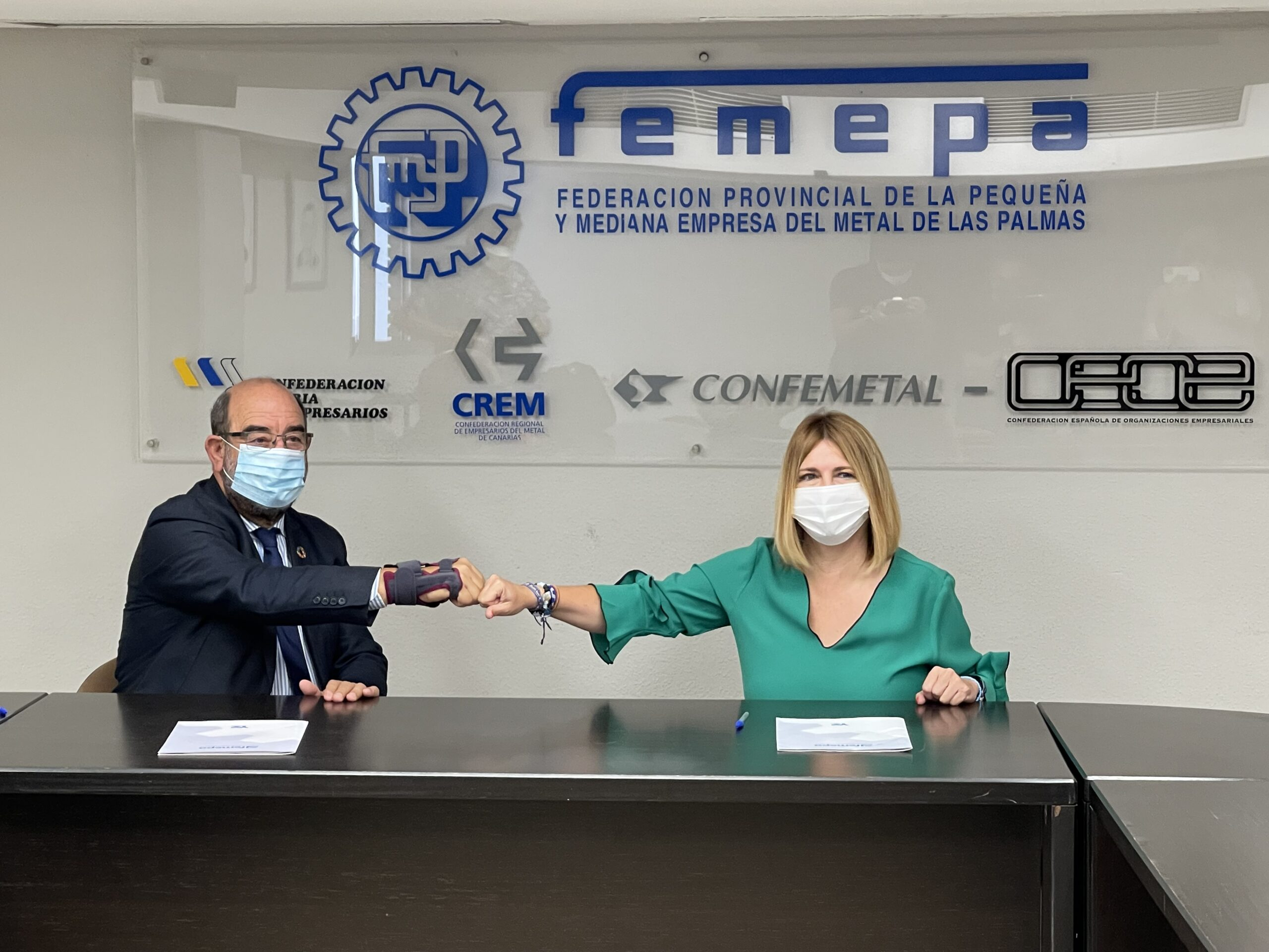 Firma acuerdo Fundación Femepa con Up2u