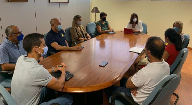Femepa apoya a Telde, el Cabildo y empresariado para poner en valor y propiciar el desarrollo del parque empresarial de Salinetas